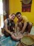 fabrication du lait de coco