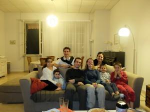 Yann, Anne Sophie, Marine, Thibault, Sebastien et Amaury