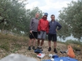 camping sous les oliviers avec Thomas